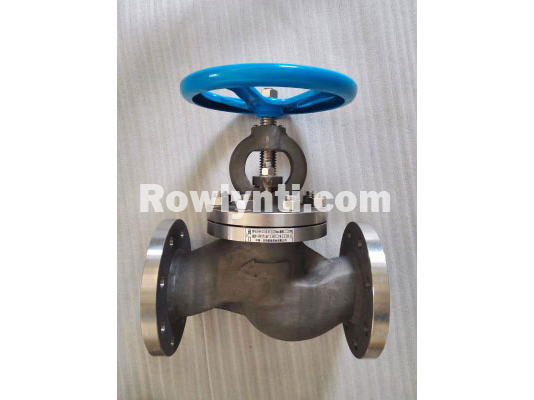J41W manual flange to connect the titanium globe valve