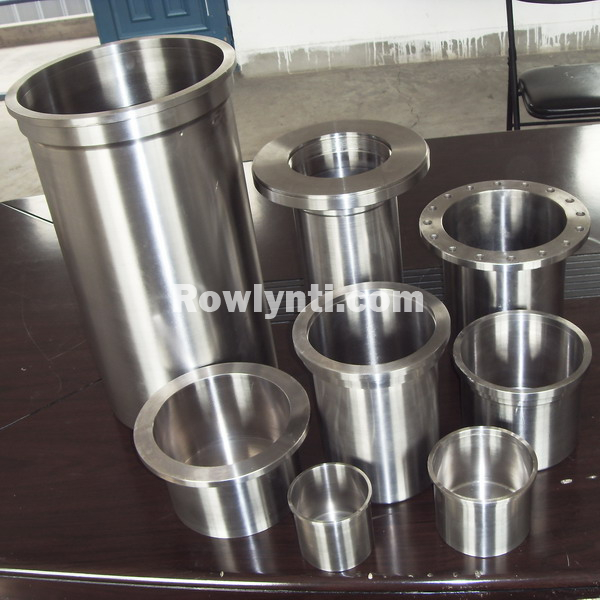 TC4 / GR5 Titanium magnetic pump sleeve